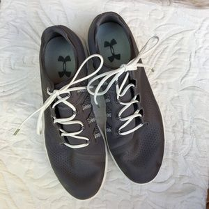 Under Armour Grey Sneakers 10.5